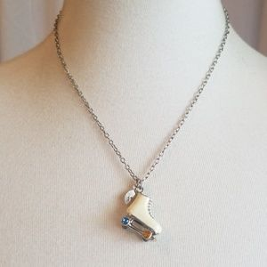 Claire's Skate Necklace